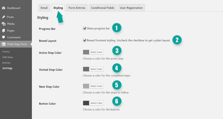Multi Step Form Documentation   Mondula   Browser-Based Solutions